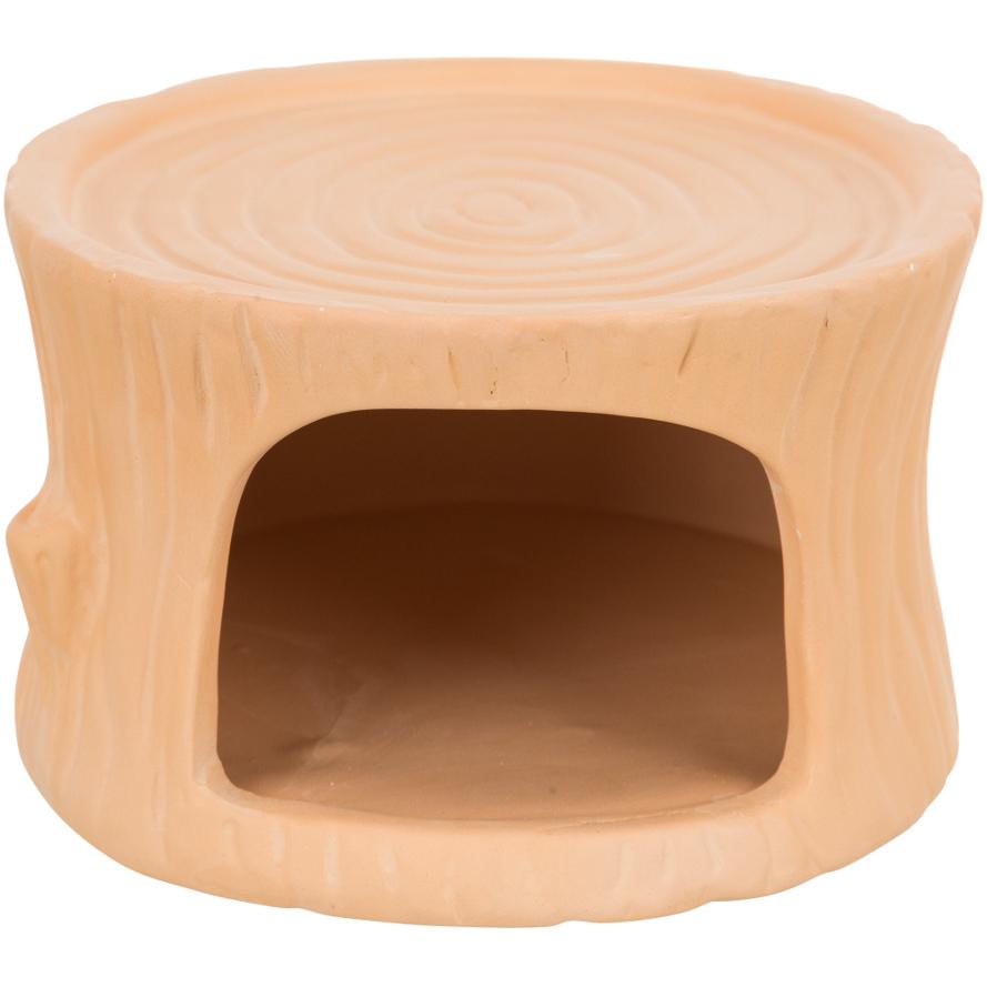 Keramikhaus Baumstamm für Hamster und Mäuse