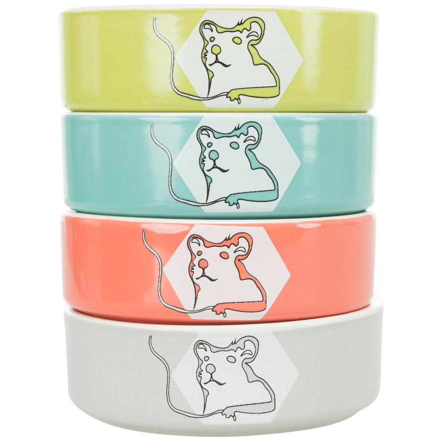 Keramiknäpfe für Hamster, Meerschweinchen und Kaninchen