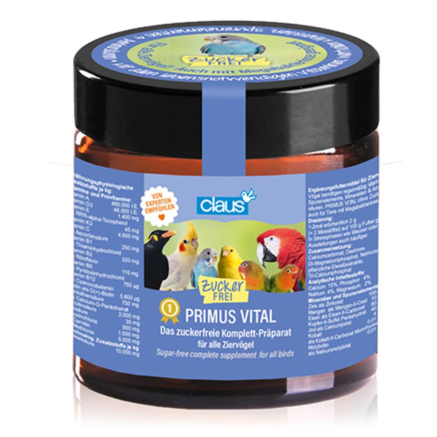 Primus Vital - Vitamine, Mineralstoffe und Spurenelemente für Ziervögel