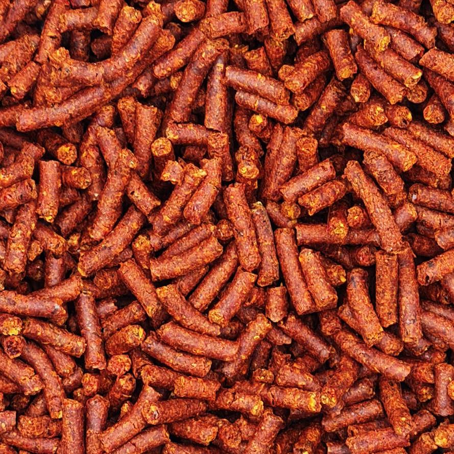 Paprika-Pellets
