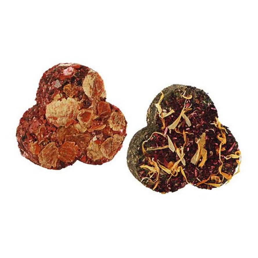 Leckerli Kleeblätter mit Gemüse oder Kräutern