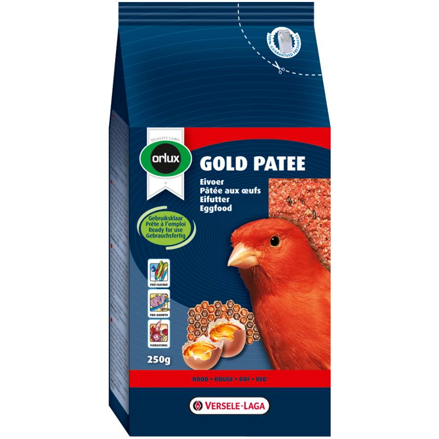 Rotes Eifutter von Orlux für Kanarien, Finken und Exoten