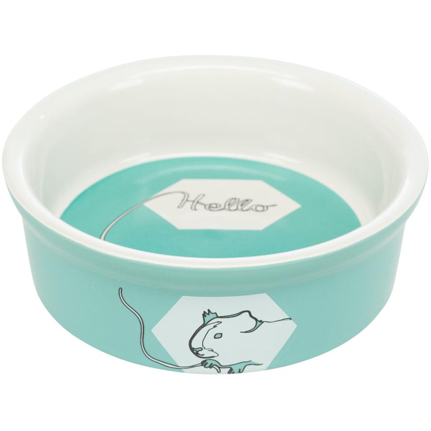 Keramiknapf für Meerschweinchen in mint