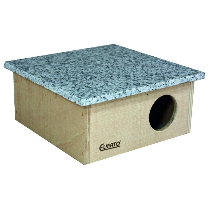 Mehrkammernhaus mit abnehmbarem Granitdach