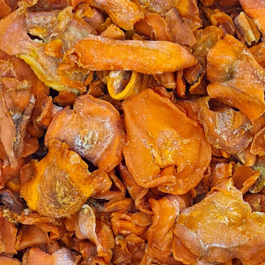 getrocknete Karottenscheiben