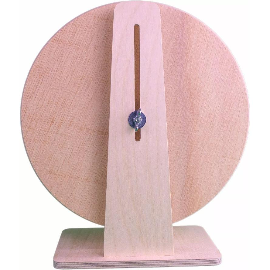 Holzlaufrad Rückansicht