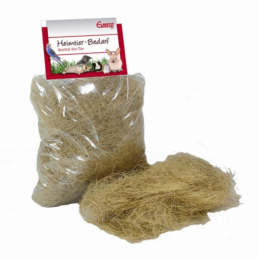 Kokosfaser als Nistmaterial im 60 g Beutel