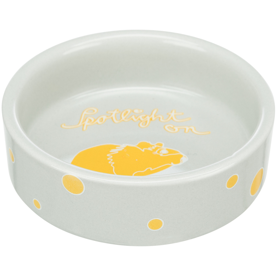Keramiknapf für Hamster Spotlight in lemon