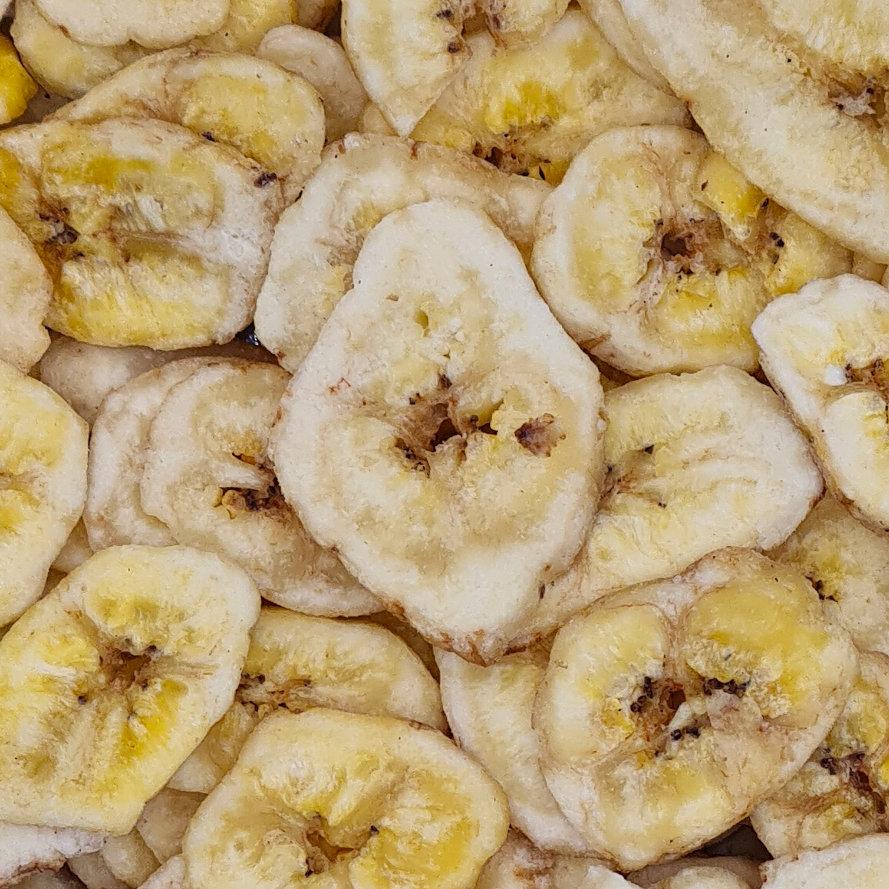 getrocknete Bananenscheiben